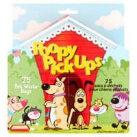 Poopy Products 10-1 Dog Waste Pick Up Bags, 75-Ct.