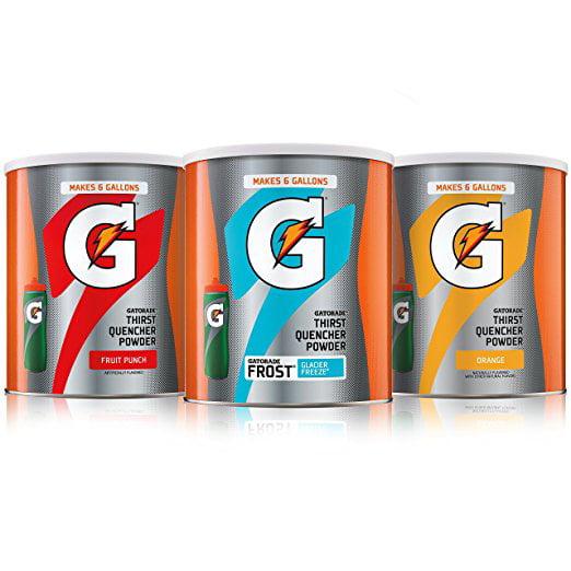 Gatorade Thirst Quencher Drink Mix, Variety Pack, 3 Ct