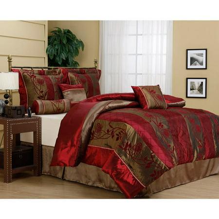 Rosemonde 7 Piece Bedding Comforter Set Walmart Com