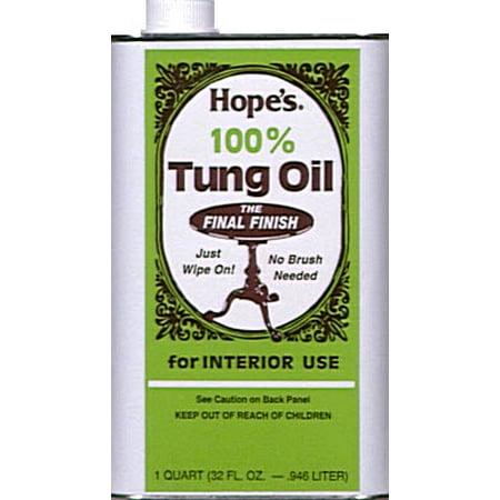 TUNG OIL 100% QT