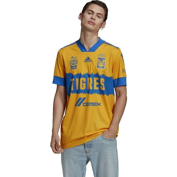 adidas Men's Tigres UANL 20/21 Home Jersey | FR2305