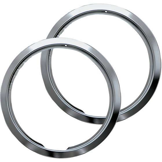 Range kleen large trim rings style e chrome set of 2 Style me up fashion trim rings