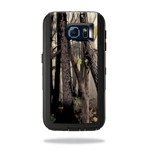MightySkins Protective Vinyl Skin Decal for OtterBox DefenderSamsung Galaxy S6 cover wrap sticker skins Tree Camo
