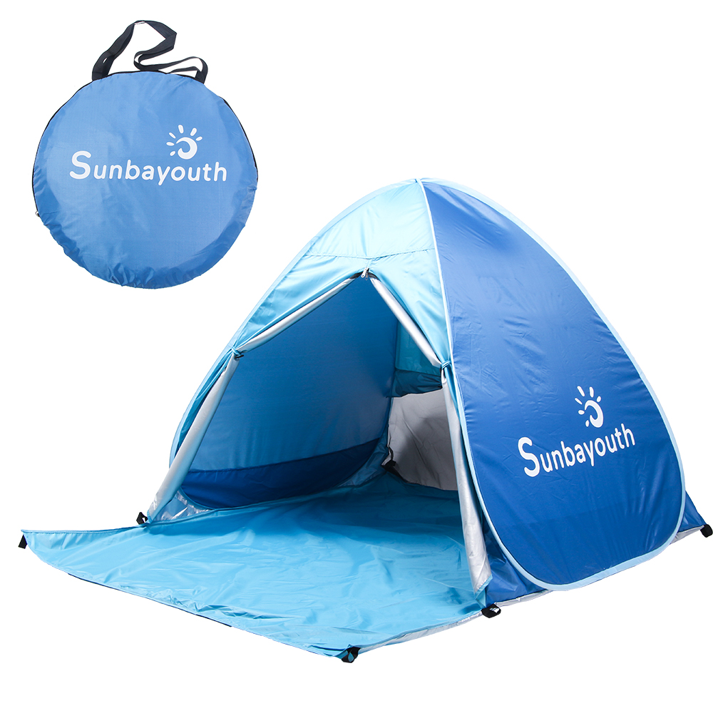 Beach TentPop Up Tent Beach Umbrella Easy Up Beach Tents 90% UV Protection Sun Shelter Beach Shade for Baby - Walmart.com  sc 1 st  Walmart & Beach TentPop Up Tent Beach Umbrella Easy Up Beach Tents 90% UV ...