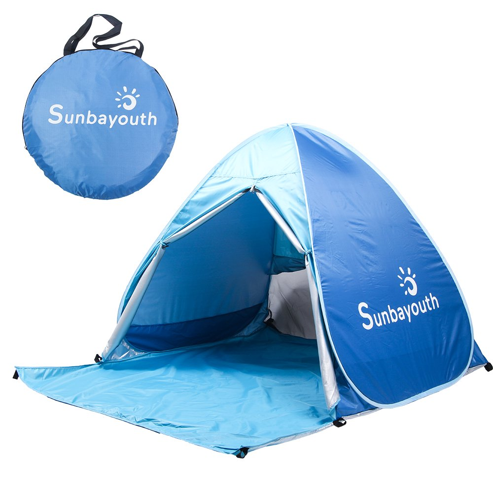 Beach TentPop Up Tent Beach Umbrella Easy Up Beach Tents 90% UV Protection Sun Shelter Beach Shade for Baby - Walmart.com  sc 1 st  Walmart.com : baby shade tent uv protection - memphite.com