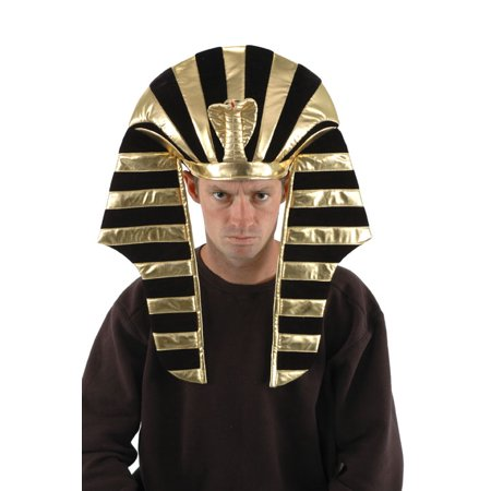 King Tut Costume Headdress for Adults and men by elope.](King Tut Kids Costume)