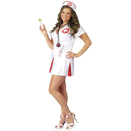 Happy Hour Say Ahhh Nurse Plus Size Costume - Plus Size Naughty Nurse Outfit