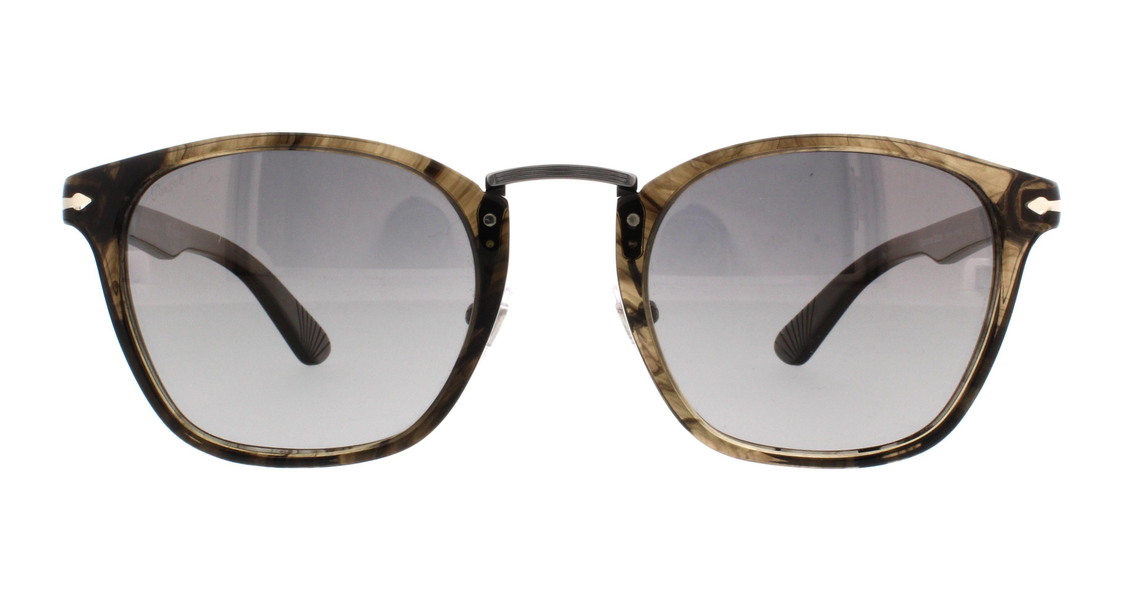0c8a5368929 Persol - PERSOL Sunglasses PO 3110S 1019M3 Cortex Striped 51MM - Walmart.com