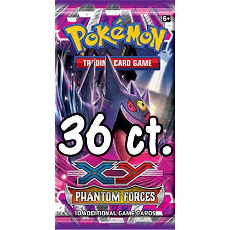 Force Booster Pack - Pokemon XY Phantom Forces LOT of 36 Booster Packs