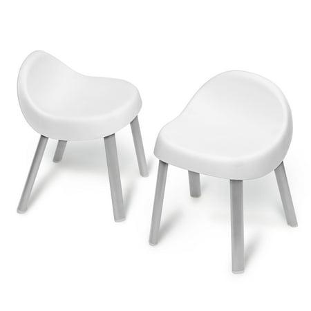 Skip Hop Explore & More Kid Chairs, White