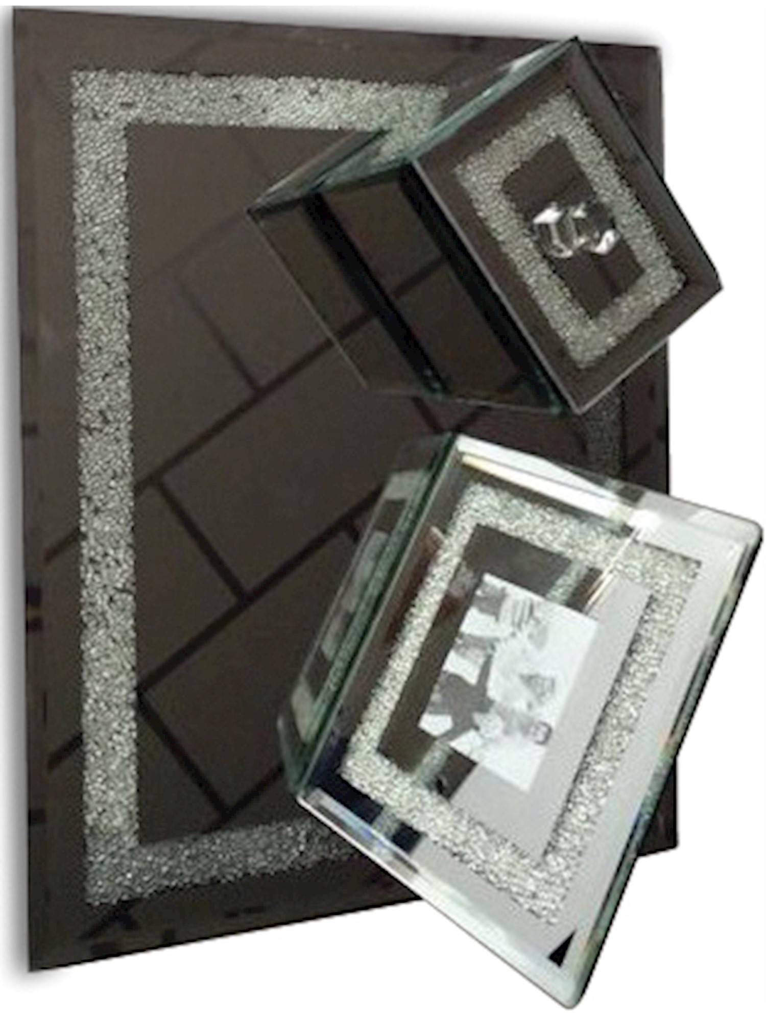 Mirror Vanity Set With Frame Designer Jewelry by Sweet Pea by