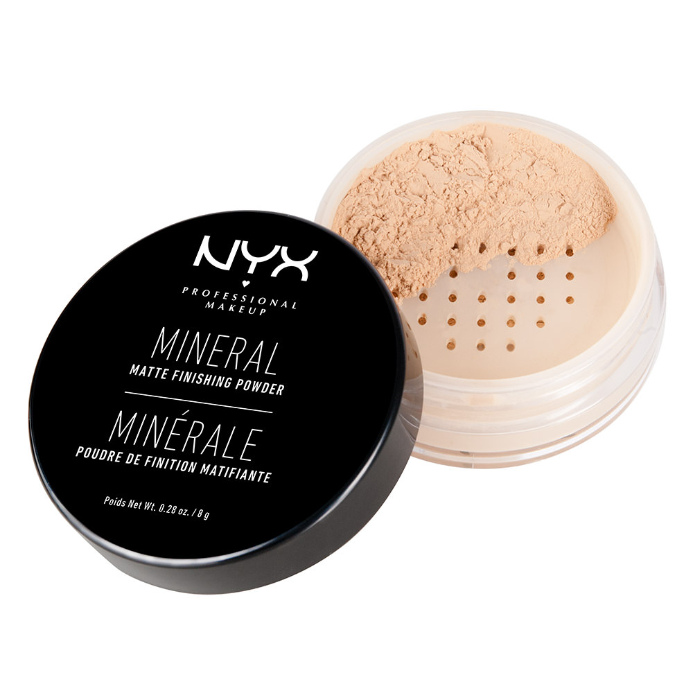 NYX Professional Makeup Mineral Finishing Powder, Light/Medium