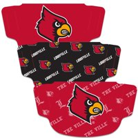 Louisville Cardinals WinCraft Adult Face Covering 3-Pack