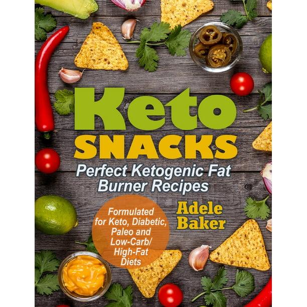 Keto Snacks : Perfect Ketogenic Fat Burner Recipes ...