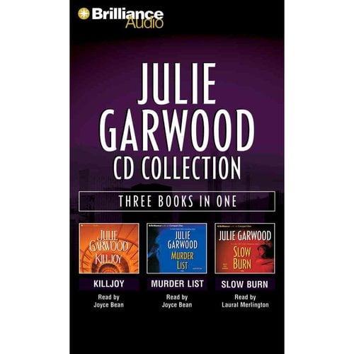 Julie Garwood CD Collection: Killjoy / Murder List / Slow Burn