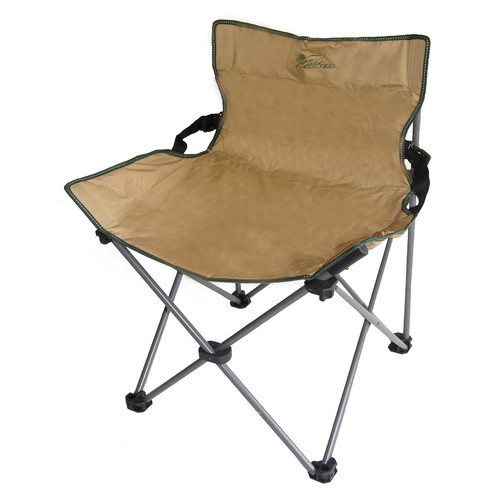 ORE Furniture Portable Low Backrest Armless Folding Camping Chair