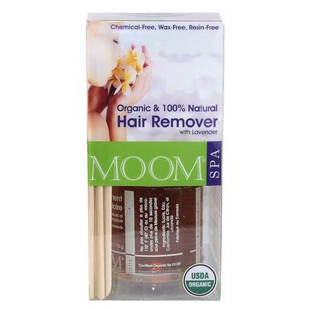 Moom Spa Organic Hair Remover Set, Lavender