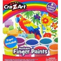 Finger Painting Kit, PartNo 12406-4, by Cra-Z-Art Corporatio, Toys, Activity & C