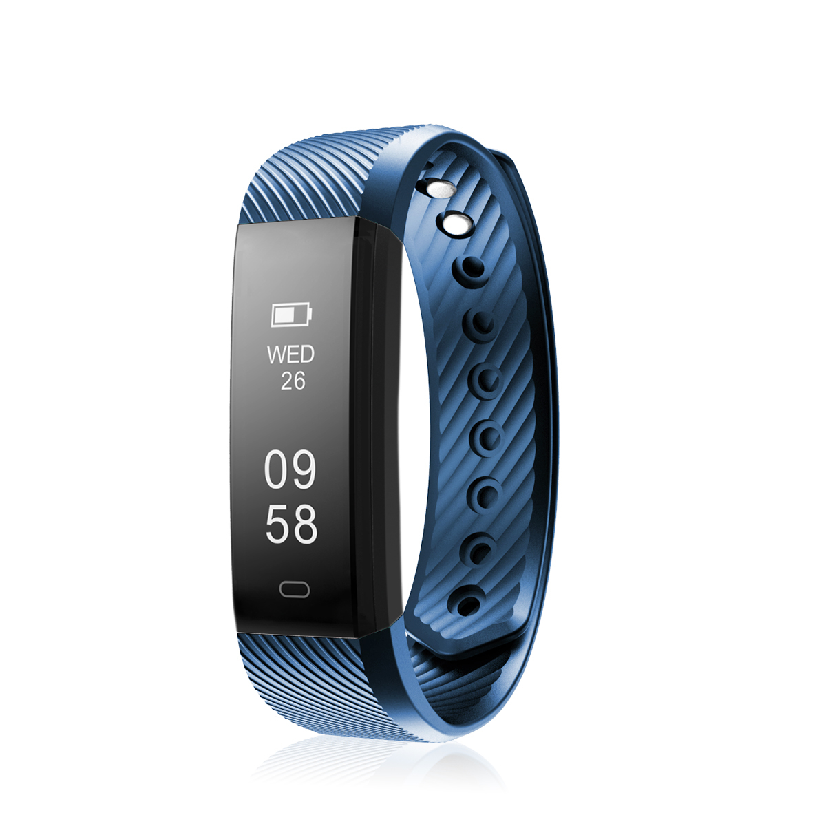 Diggro Heart Rate Bracelet Bluetooth 4.0 Pedometer Calorie Sleep  Monitor Call/SMS Reminder Sedentary Reminder for Android IOS