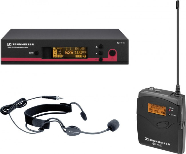 Sennheiser EW152 G3 Evolution Headset Wireless Microphone System