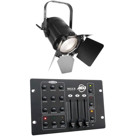 Chauvet DJ EVE F-50Z LED Fresnel Warm White D-Fi Spot Light, Zoom+DMX Controller (Fresnel Spot Flash)