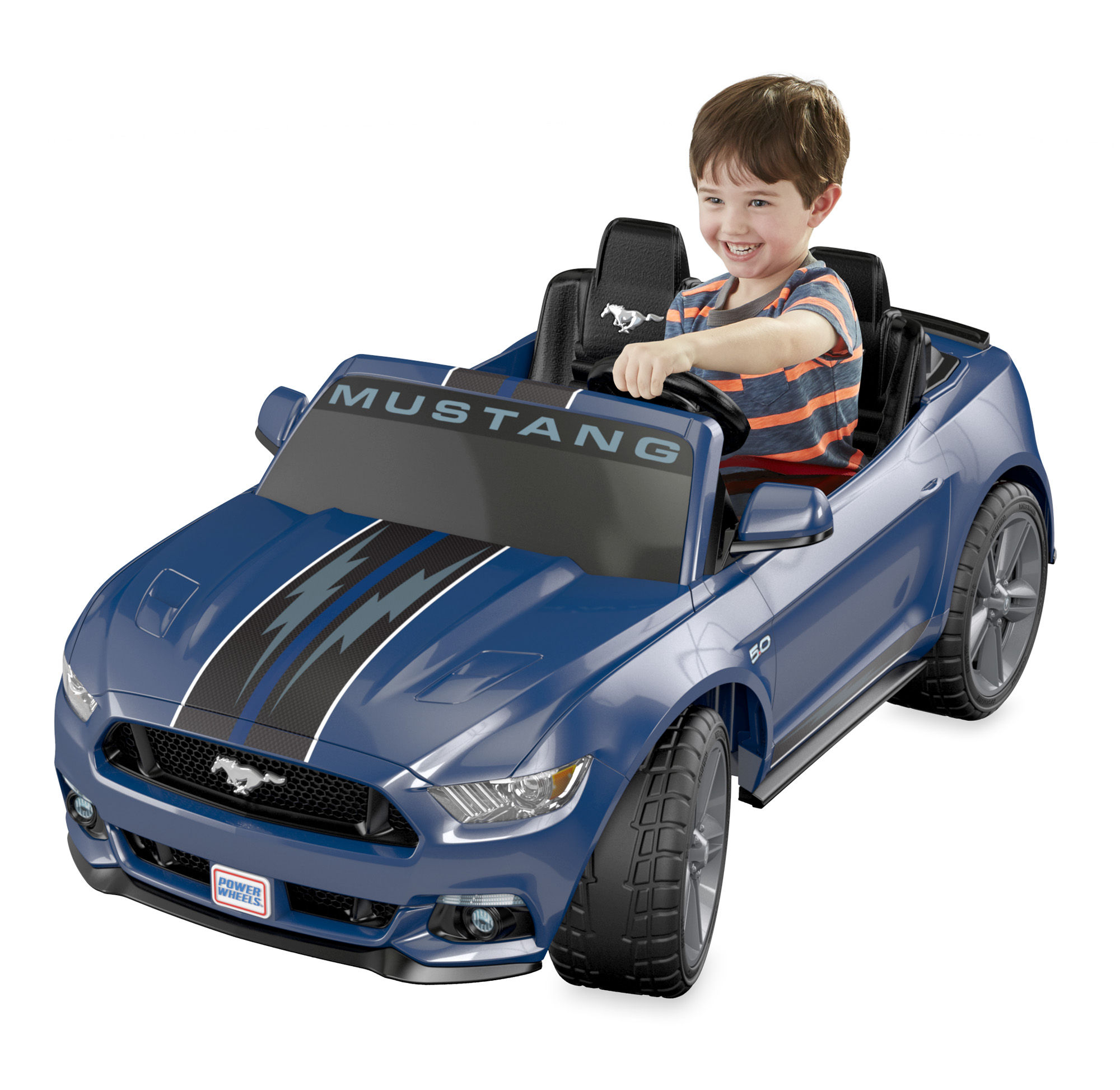 Power Wheels Smart Drive Ford Mustang Ride-On Vehicle by FISHER PRICE
