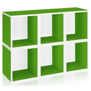 Storage Cube Plus in Green - Set of 6