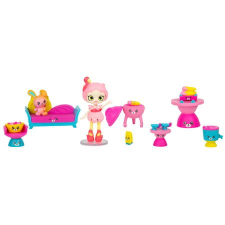 Shopkins Happy Places Rainbow Beach Furniture Set, BBQ Party