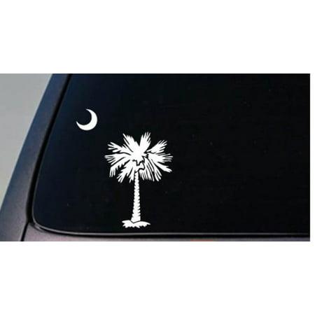 South Carolina Car Decals - SOUTH CAROLINA 6.5