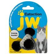 JW Pet Cataction Pom Pom Triangle