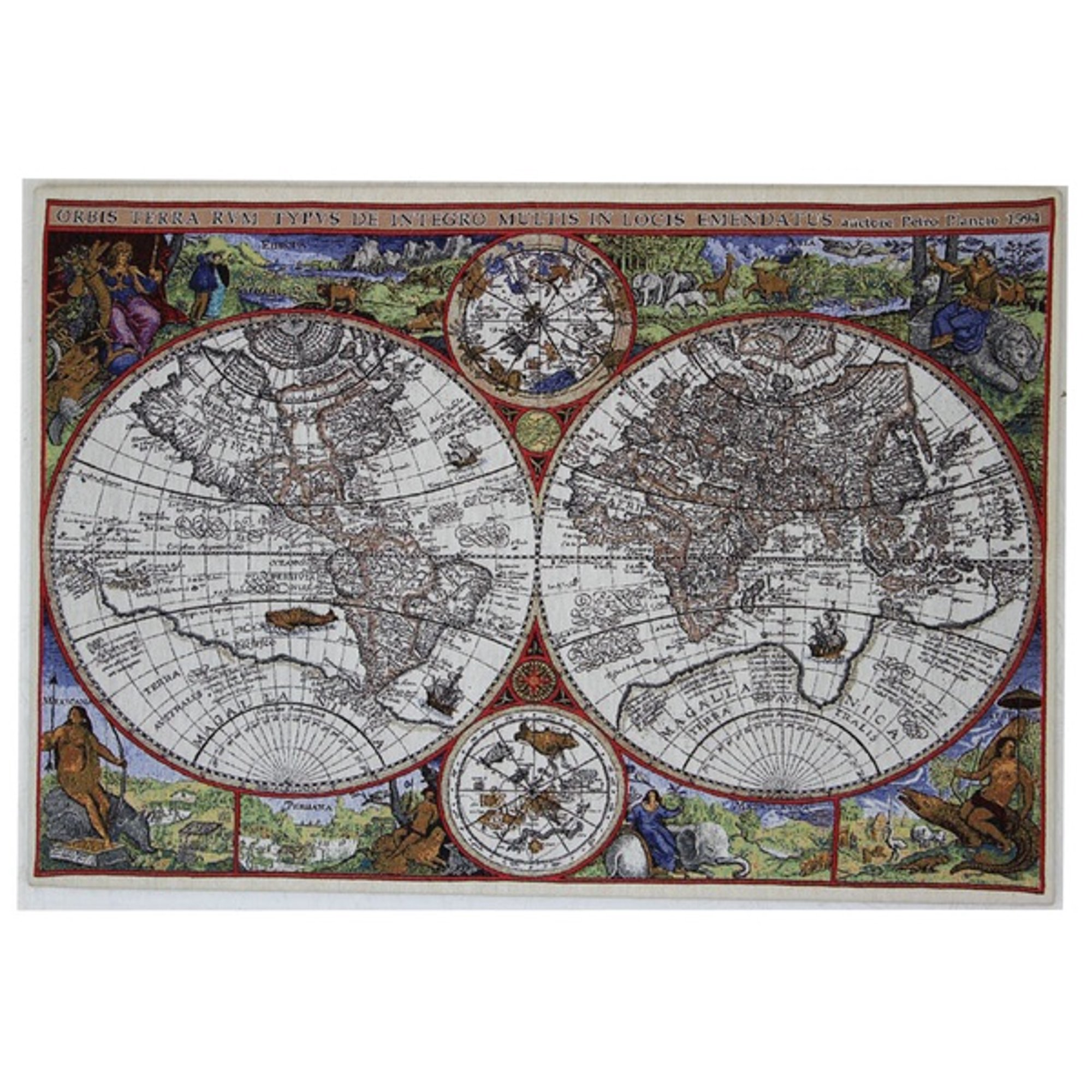 Wall Map Of Wonder Stretched Wall Tapestry A H 23 X W 34 Walmart Canada