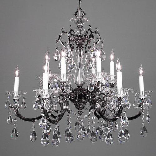 Classic Lighting Via Lombardi 12 Light Chandelier