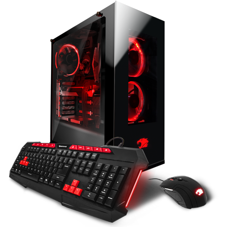 Ibuypower Black Panther Wa006a Gaming Desktop Pc With Amd Fx 8320 Processor  16Gb Memory  2Tb Hard Drive And Windows 10 Home  Monitor Not Included