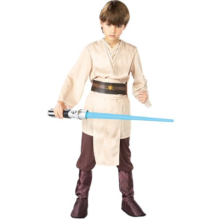 Star Wars Episode III Deluxe Child's Jedi Knight Costume, Medium, Star Wars Child's Deluxe Jedi Knight Costume, Medium By Rubie's