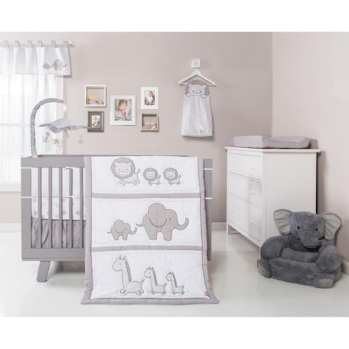 Trend Lab Safari Chevron 3-piece Crib Bedding Set by Overstock