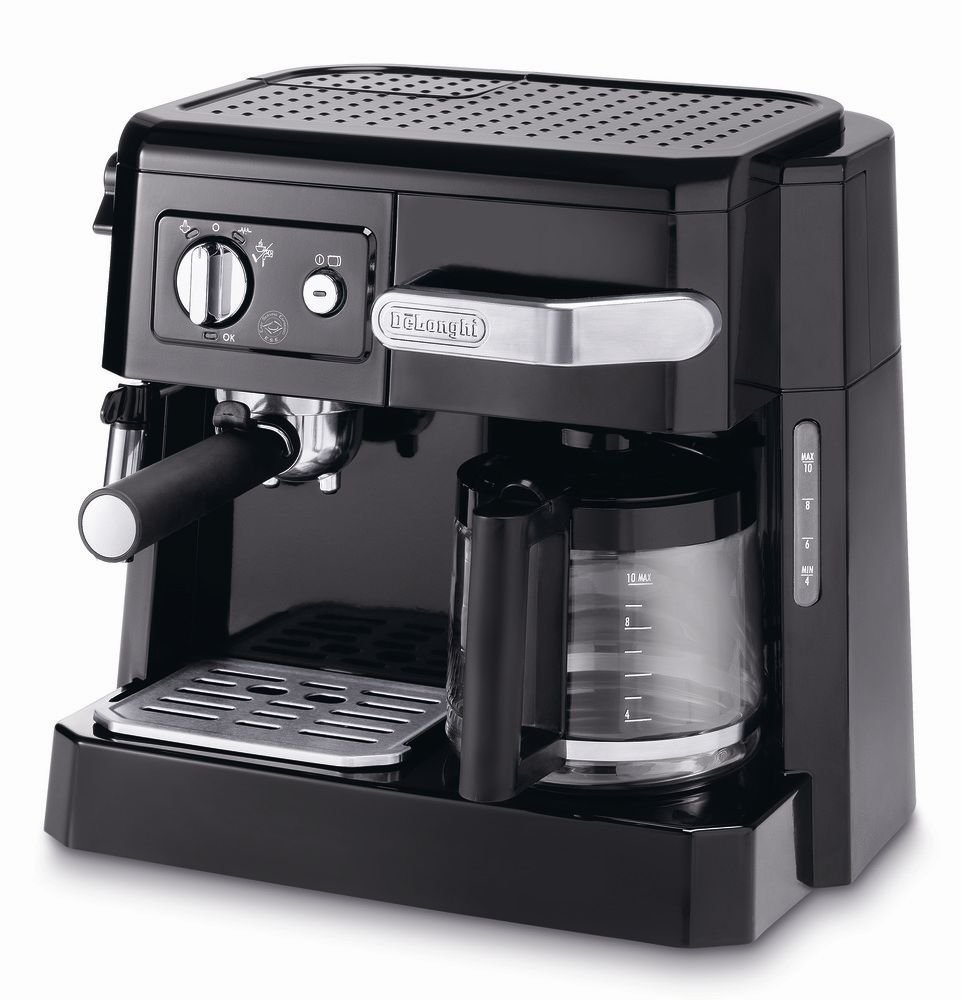 Delonghi BCO410 15-Bar Combi Espresso Coffee Machine, 220...