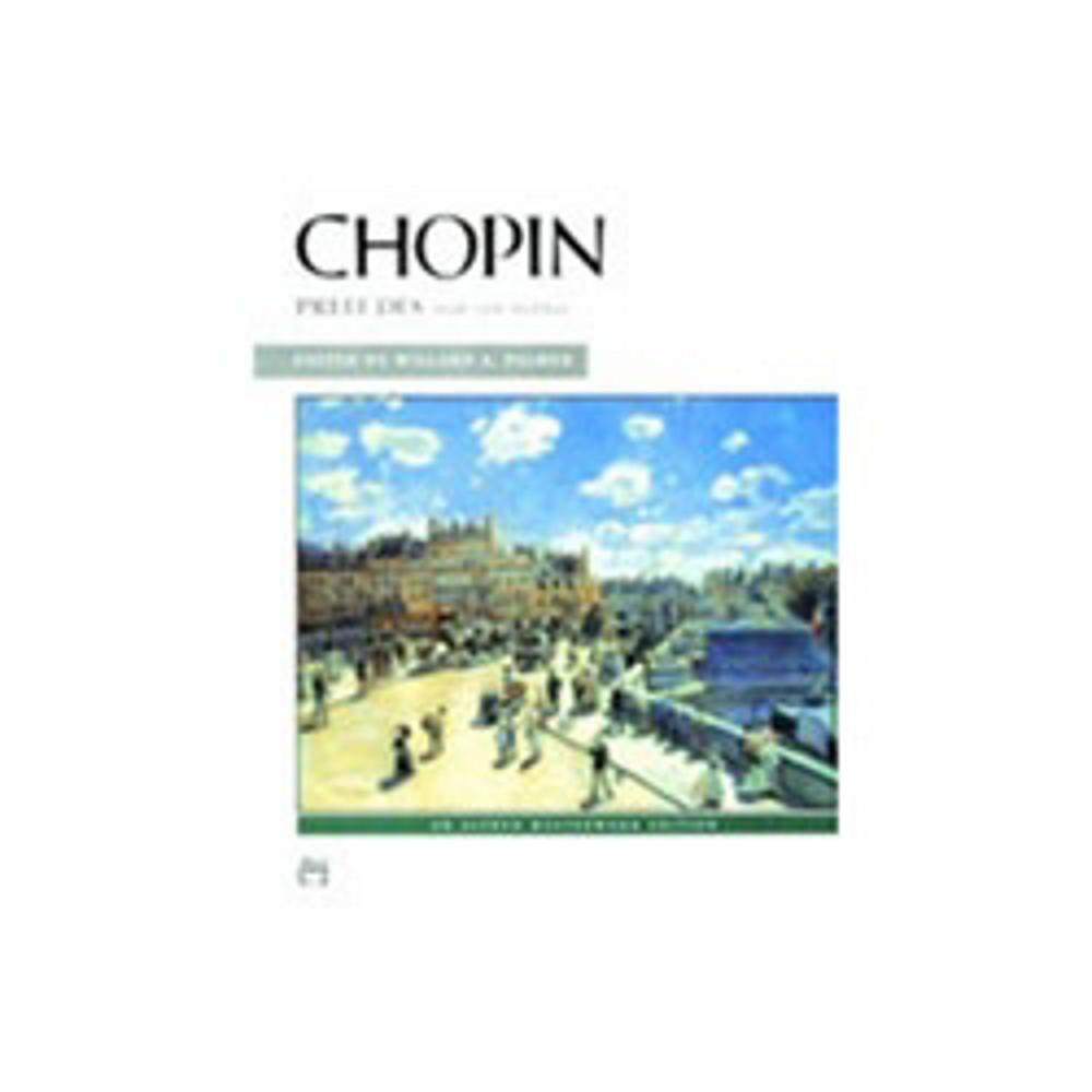 Alfred Chopin Preludes by Alfred Publishing Company