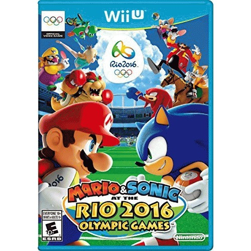 Nintendo Mario & Sonic at the Rio 2016 Olympic Games WUPPABJE