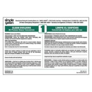 SIMPLE GREEN 9510001000012 Ten pack of secondary labels for Simple Green Clean