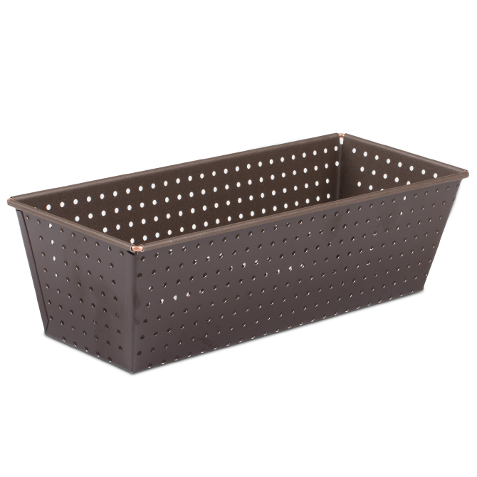 Gobel Perforated Nonstick Loaf Pan - 10.6-in Length