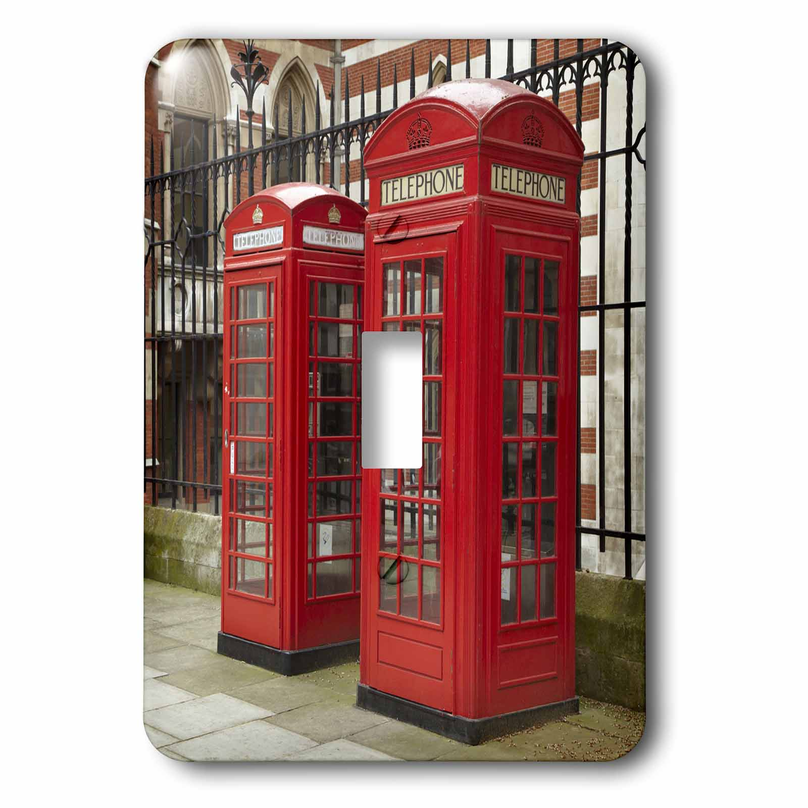 3dRose Phone boxes, Royal Courts of Justice, London, England - EU33 DWA0003 - David Wall, 2 Plug Outlet Cover