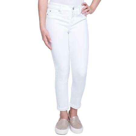 Girls Disco Pants (Girls' 7-16 Brushed Twill Skinny)