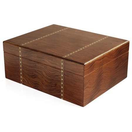 Savoy by Ashton Ironwood Marquetry Humidor, 50 Cigar