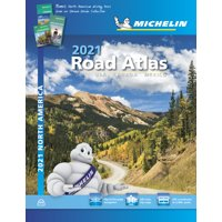 Michelin North America Road Atlas 2021: USA Canada Mexico (Other)