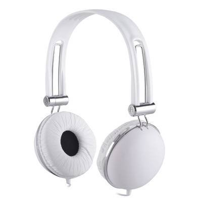 Premium Over-Head Stereo Earphones Headset Headphones w/ Mic for Amazon Fire Phone, Kindle Fire, HDX 7, Fire HD, HD 8.9, HDX 8.9 (White) + MND Stylus