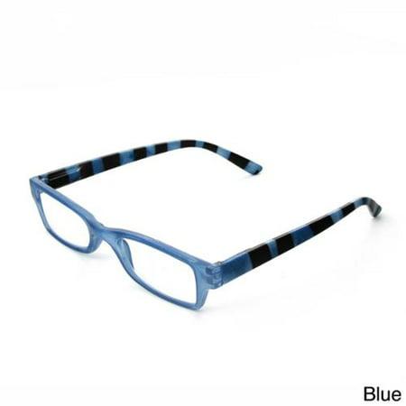 Reading Glasses Blue Frames : Hot Optix Womens Fashion Reading Glasses Blue frame, +2 ...