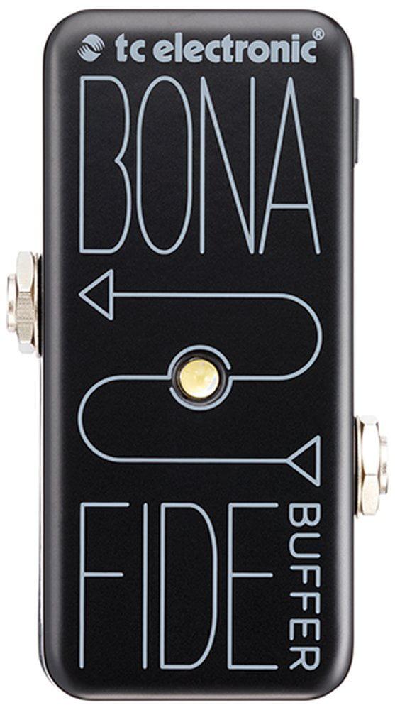 BonaFide Buffer Guitar Signal Path Effect, High-quality analog buffer By TC Electronic by