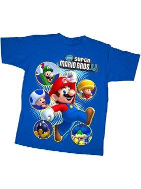 a21c6da5 Product Image Nintendo T-Shirt New Super Mario Bros. U Super Cast T-Shirt