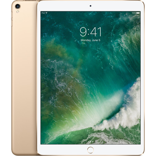 "Refurbished Apple iPad Pro (10.5"") 512GB Gold Wi-Fi MPGK2CL/A"
