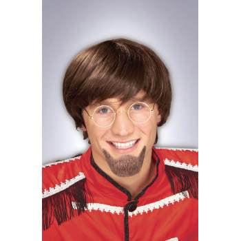 GOATEE BEARD-BLACK HUMAN HAIR - Long Hair And Beard Costume Ideas